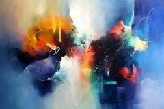 Harmonie 100 x 120 cm. Te koop bij galerie De Kunstkeuken